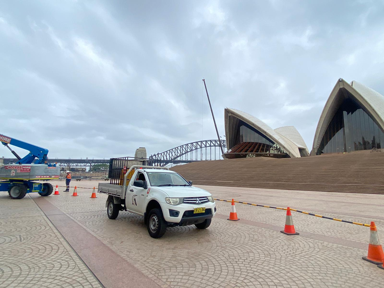 RMS permits traffic control at opera house