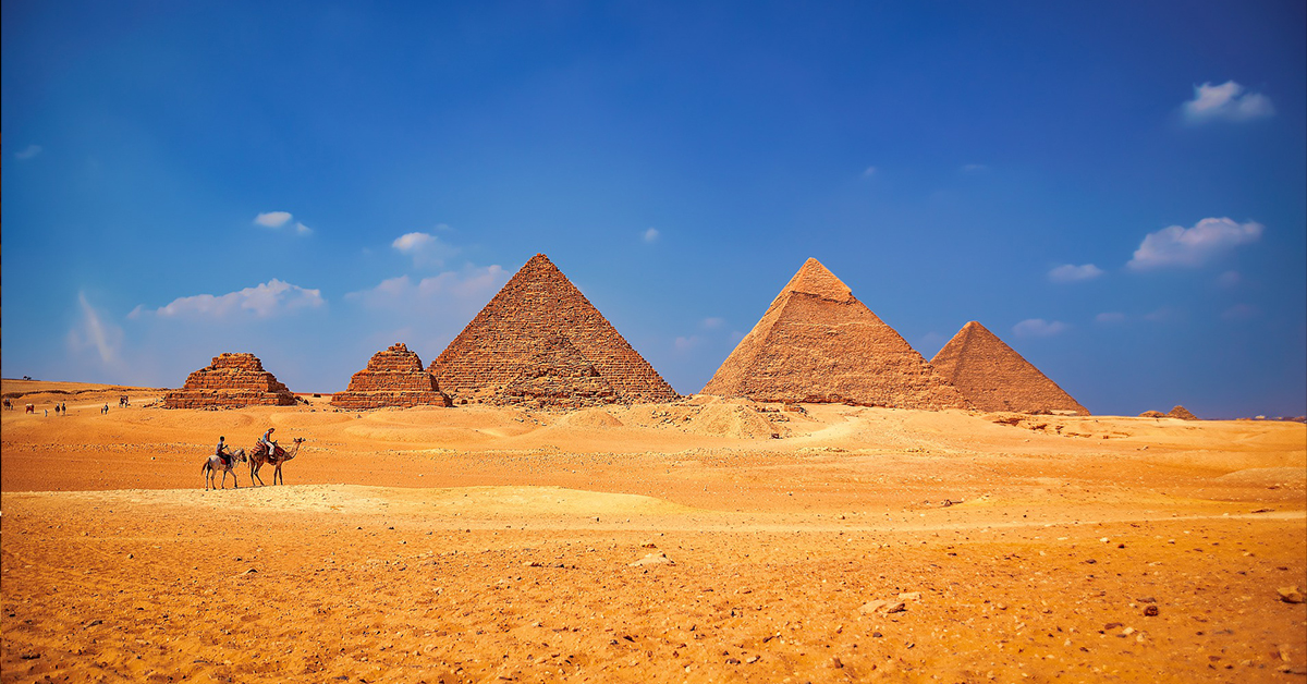 Great Pyramid famous building