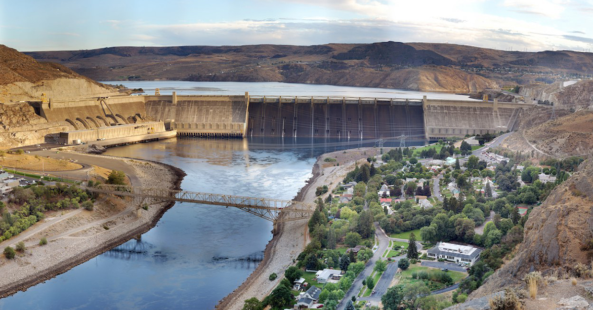 grand coulee dam famous building