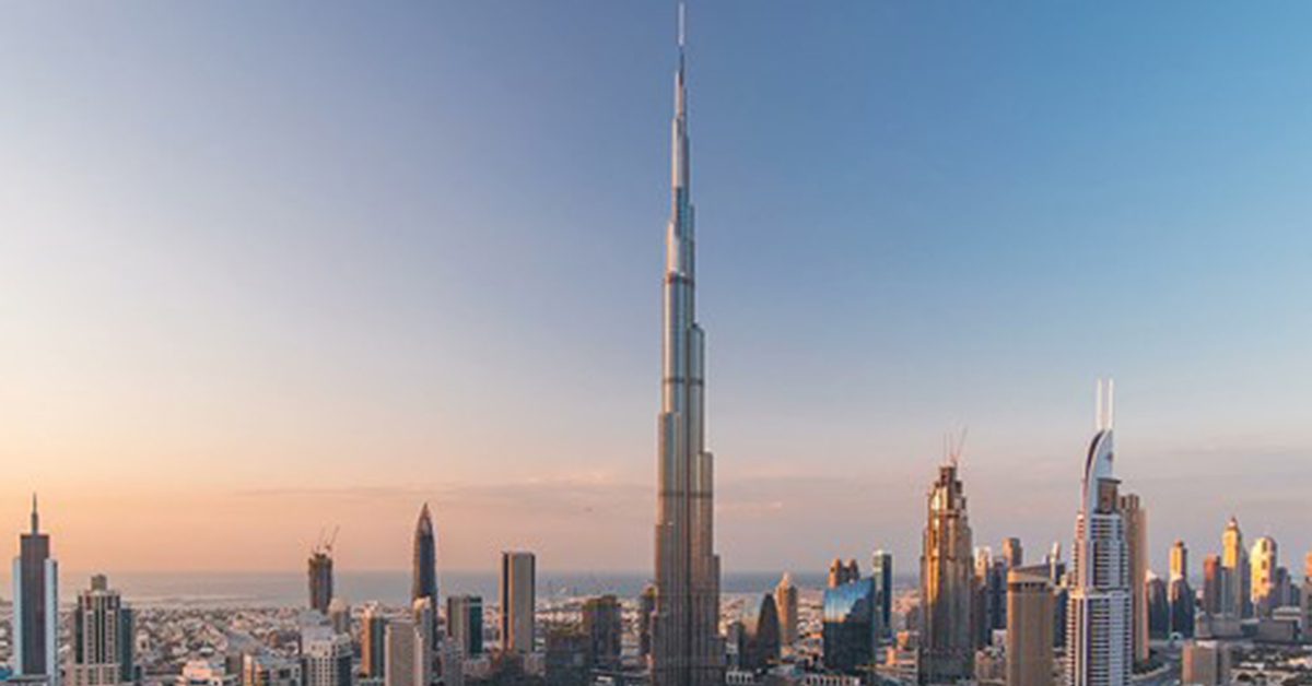 burj khalifa famous building