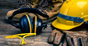 construction workers ppe